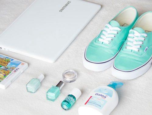 mlle nostalgeek blog coups de coeur de l'été summer mint vans animal crossing