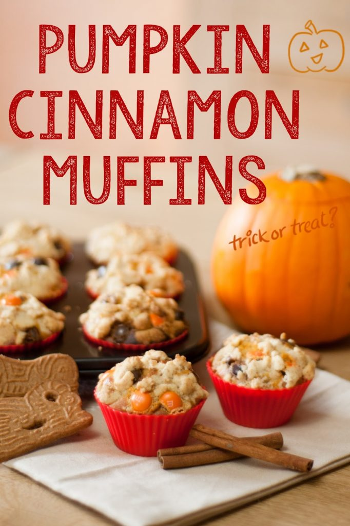 Muffins potiron et cannelle recette blog halloween automne