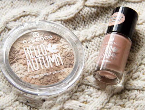 Mlle mademoiselle nostalgeek collection limitée hello autumn essence blog maquillage beauté poudre vernis à ongles
