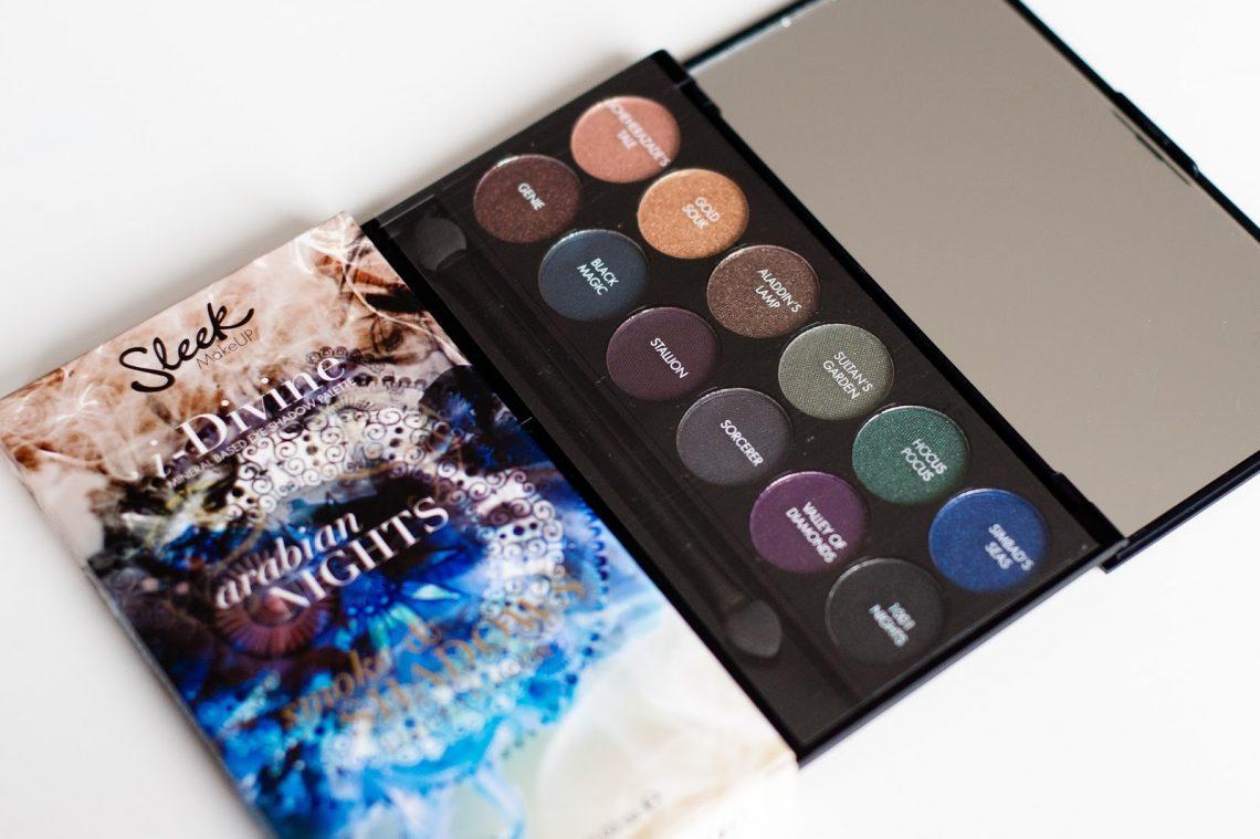 packaging Un regard envoutant avec Sleek ! Mlle mademoiselle nostalgeek blog beauté beauty fotd maquillage sleek palette arrabian nights makeup yeux bleus
