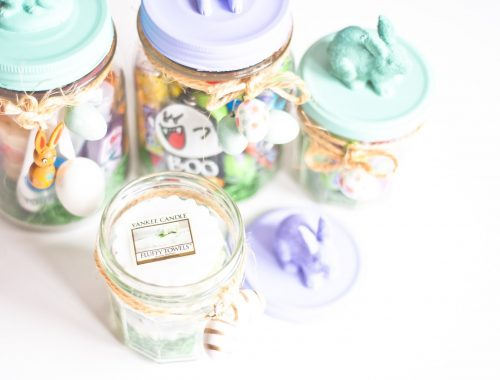 mlle mademoiselle nostalgeek gift in a jar cadeau de paques parfait diy do it yoursel personalisable