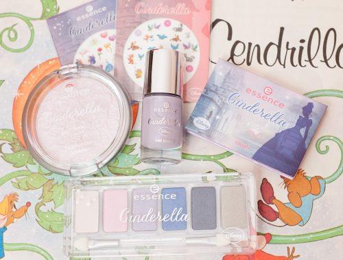 Mle mademoiselle nostalgeek blog édition limitée essence cinderella cendrillon maquillage vernis makeup palette nail art