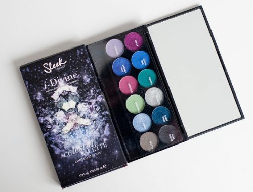 palette celestial de sleek blog beauté blogueuse maquillage makeup