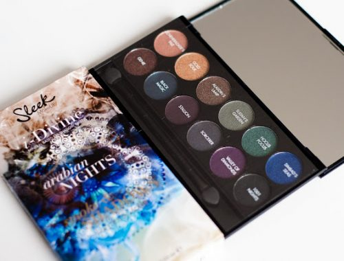 Sleek arabian nights palette blog beauté blogueuse mlle mademoiselle nostalgeek look duochrome