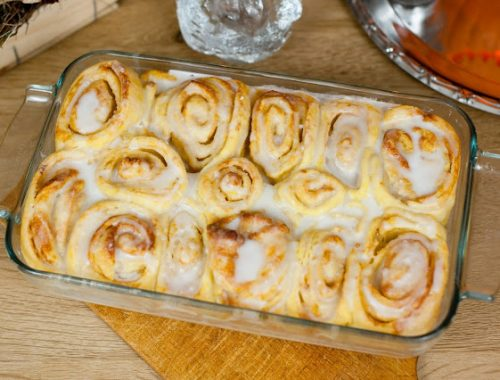 cinnamon rolls potiron cannelle recette automne halloween blog blogueuse