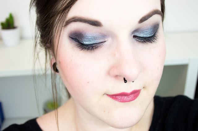 Palette Sleek Enchanted Forest full face makeup swatches test review