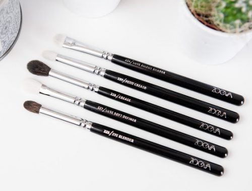 Pinceaux favoris Zoeva yeux petit crease luxe smoky shader luxe soft definer eye blender brushes makeup tools