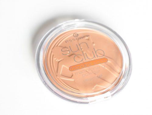 Poudre bronzante bronzeur bronzer Sun Club Blondes revue test reviez petit prix abordable pour débutant