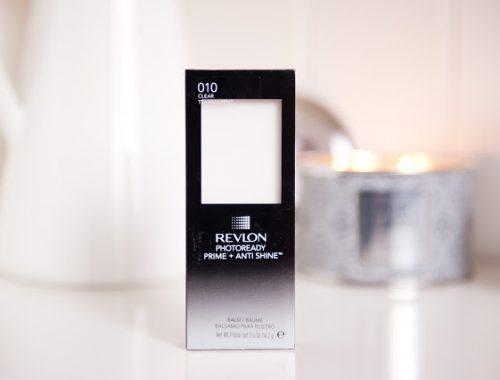 baume primer revlon photoready anti shine balm test review
