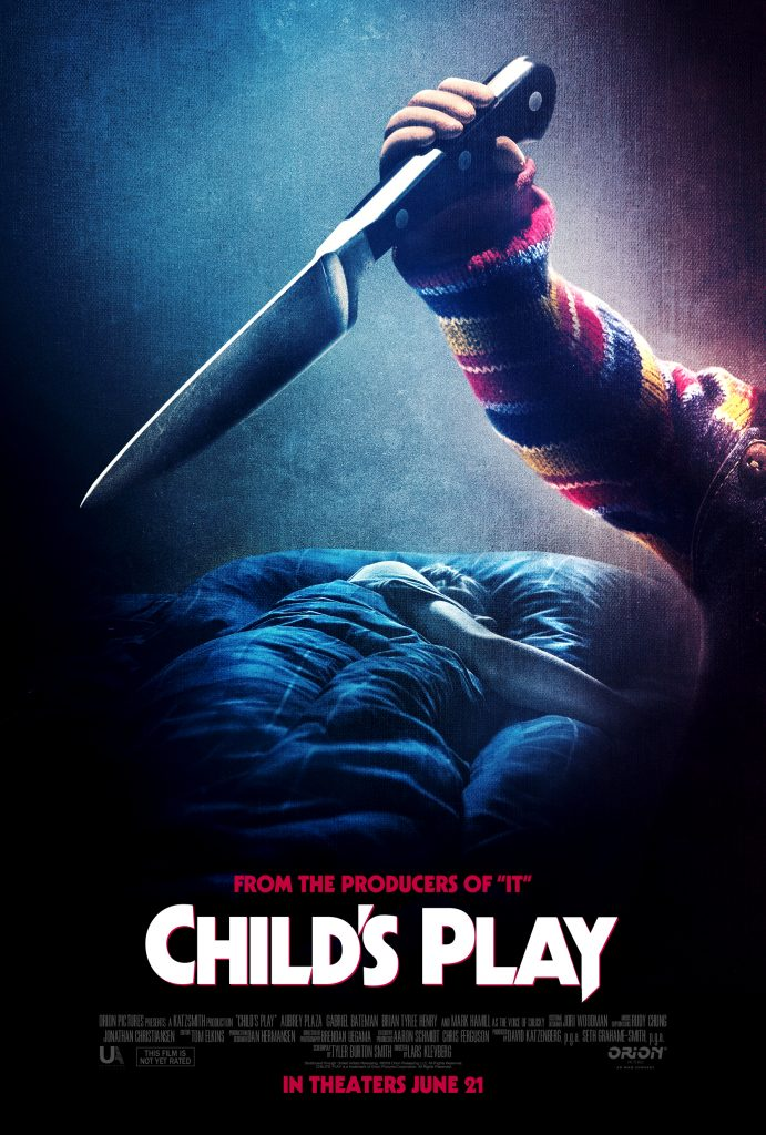 Mlle Nostalgeek blog film d'horreur horror movie critique revue review Child's Play la poupée du mal 2019 jeu d'enfant Chucky avis poster officiel cinéma