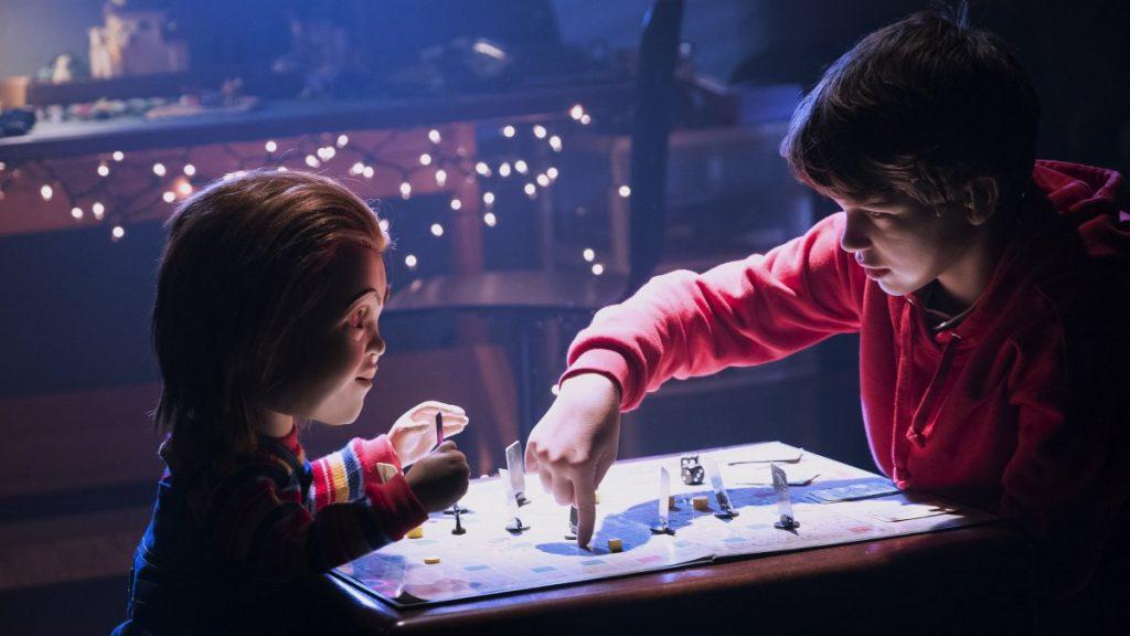 Mlle Nostalgeek blog film d'horreur horror movie critique revue review Child's Play la poupée du mal 2019 jeu d'enfant Chucky avis cinéma poster