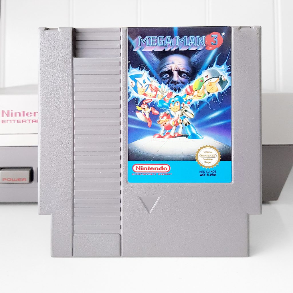 Nintendo NES jeu video game retro retrogaming console megaman 3