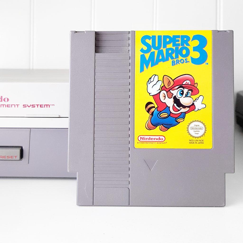 Nintendo NES jeu video game retro retrogaming console super mario bros 3
