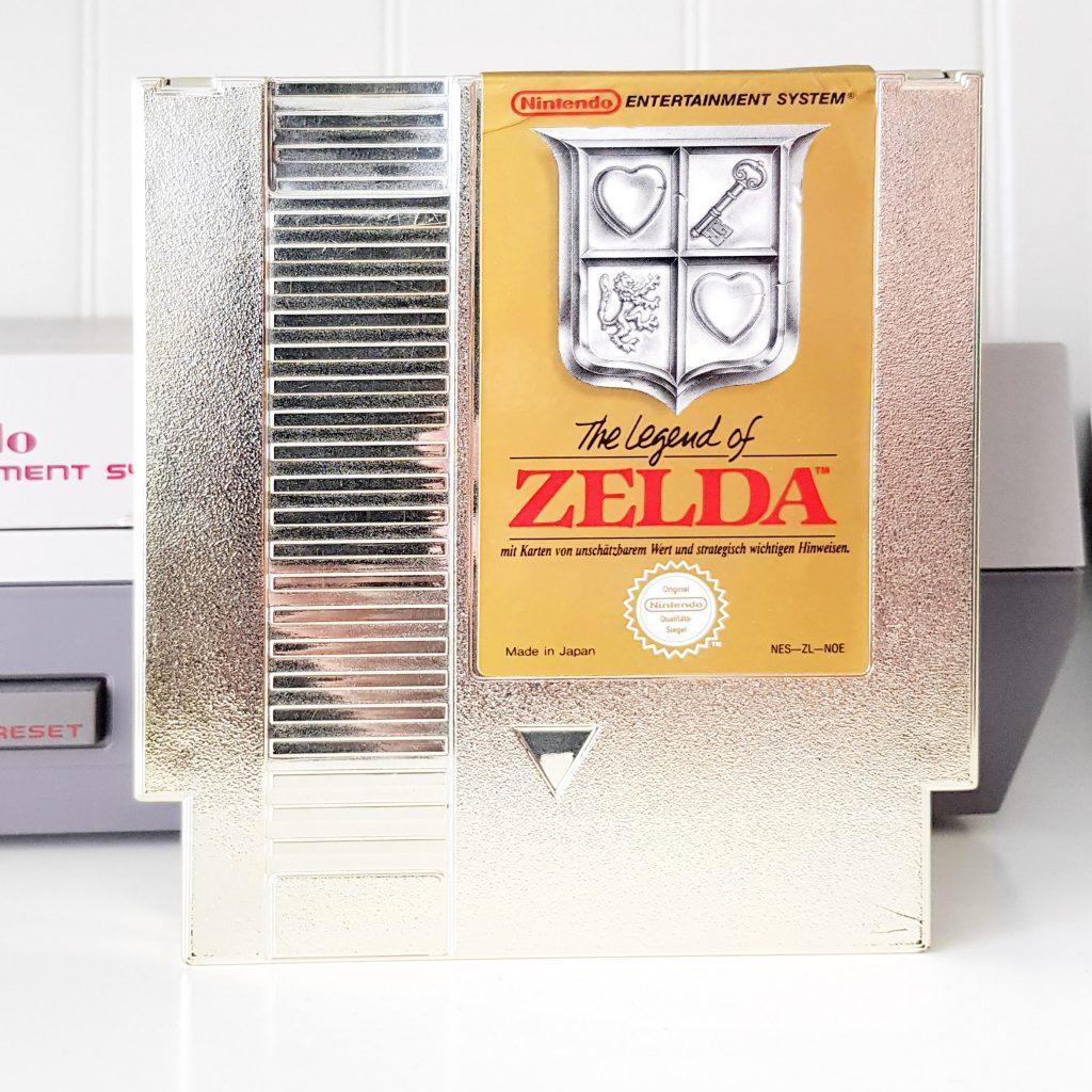 Nintendo NES jeu video game retro retrogaming console the legend of zelda link