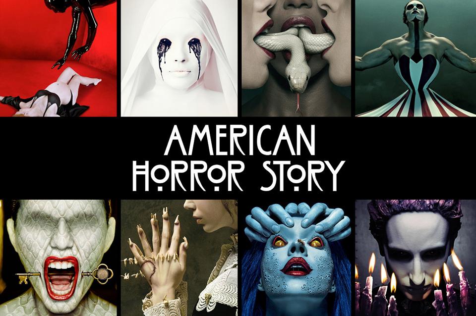 mlle nostalgeek blog geek série automne halloween épouvante horreur gore american horror story murder house asylum freak show roanoke cult apocalypse coven hotel 1984