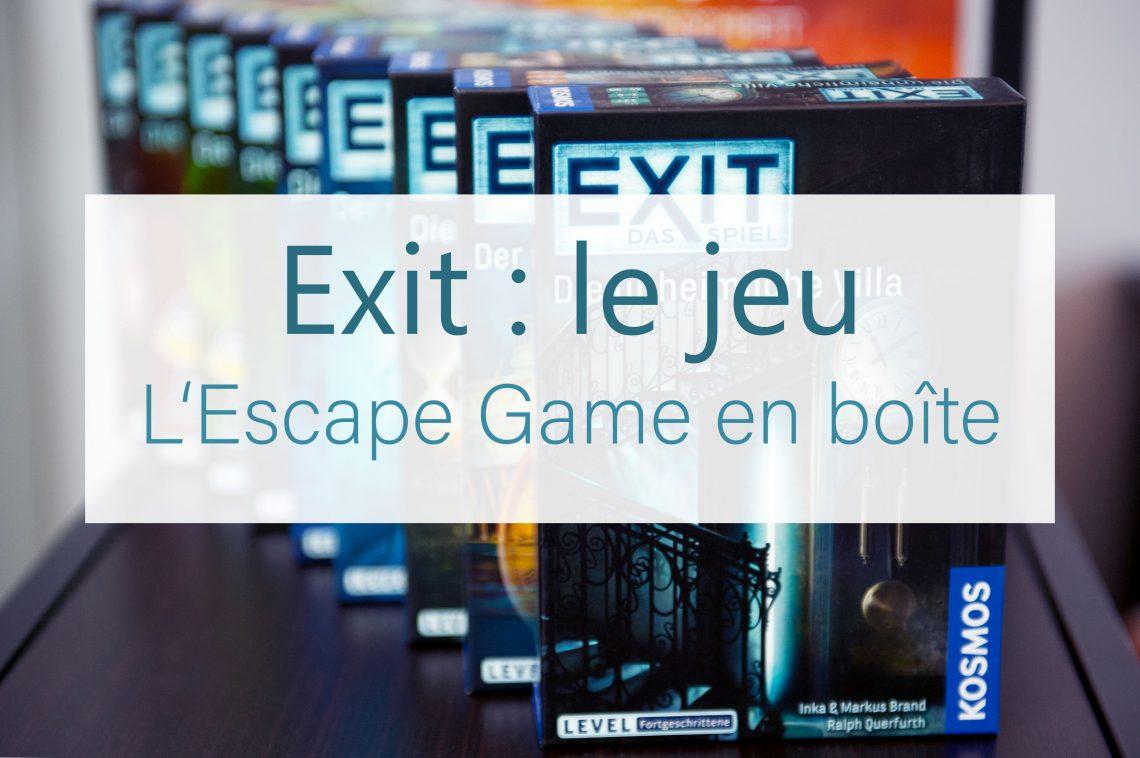 Exit le jeu de société escape room en boîte blog j2s ludothèque loisirs geek
