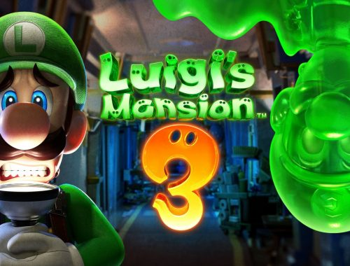 Mlle Nostalgeek blog geek jeux video Nintendo Switch Luigi's Mansion 3