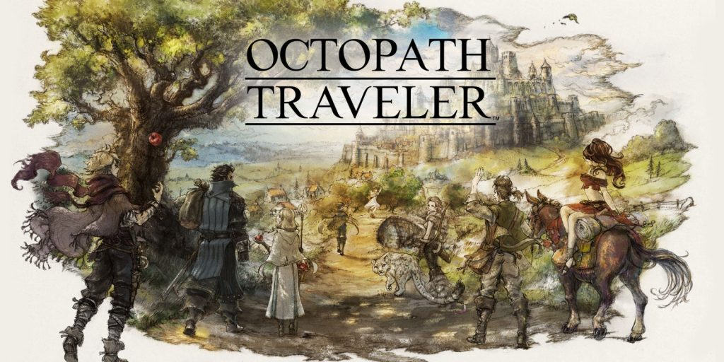 Mlle Nostalgeek blog geek jeux video Nintendo Switch Octopath Traveler