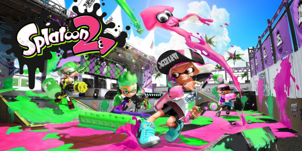 Mlle Nostalgeek blog geek jeux video Nintendo Switch Splatoon