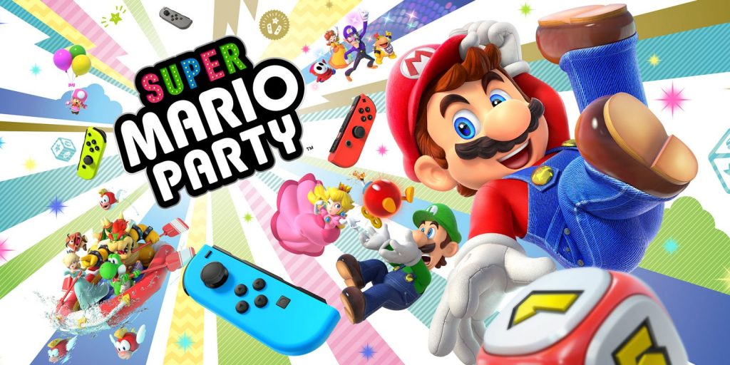Mlle Nostalgeek blog geek jeux video Nintendo Switch Super Mario Party