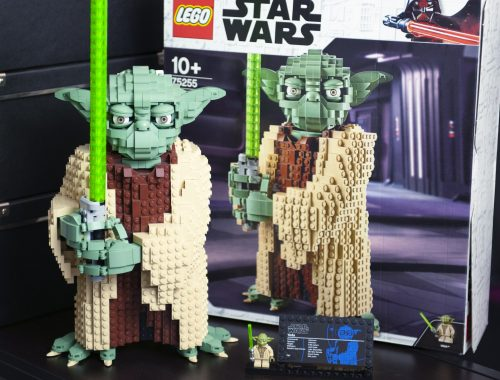 blog geek revue de set Lego Star Wars Yoda 75255