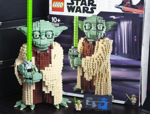 blog geek revue de set Lego Star Wars Yoda 75255