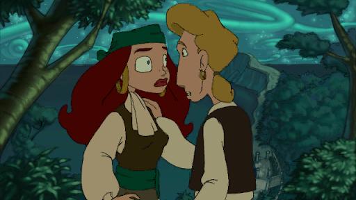 Mes histoires d'amour préférées du jeu vidéo : Guybrush et Elaine, le duo romantique parfait du jeu video. Un de mes couples préférés