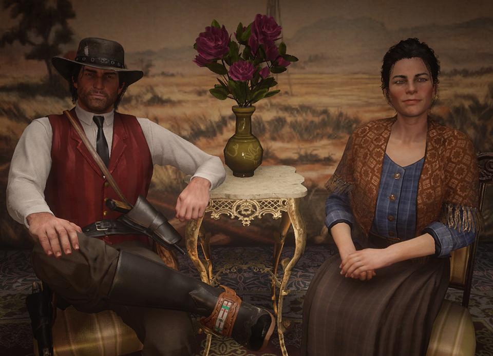 Mes histoires d'amour préférées du jeu vidéo : John et Abigail Marston et leur histoire d'amour dans Red Dead Redemption. Une de mes histoires d'amour préférées du jeu video