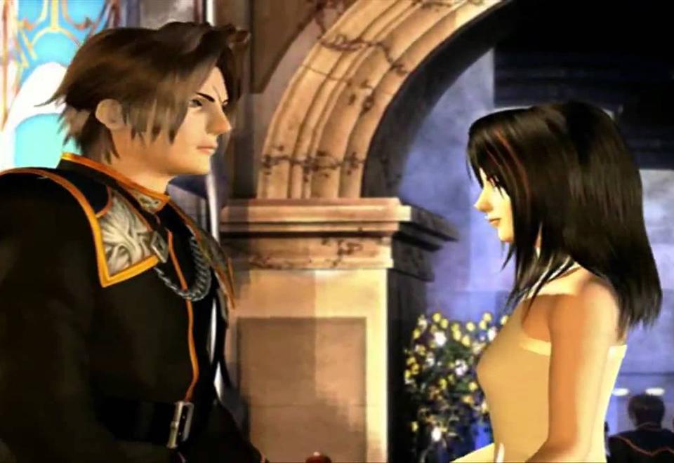 Final Fantasy 8 scene de bal squall et linoa. Histoire d'amour du jeu video favorite