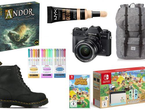 Wishlist du moment Nintendo Switch chaussure maquillage sac à dos jeux de société Fujifilm Zebra Marker Bullet Journal