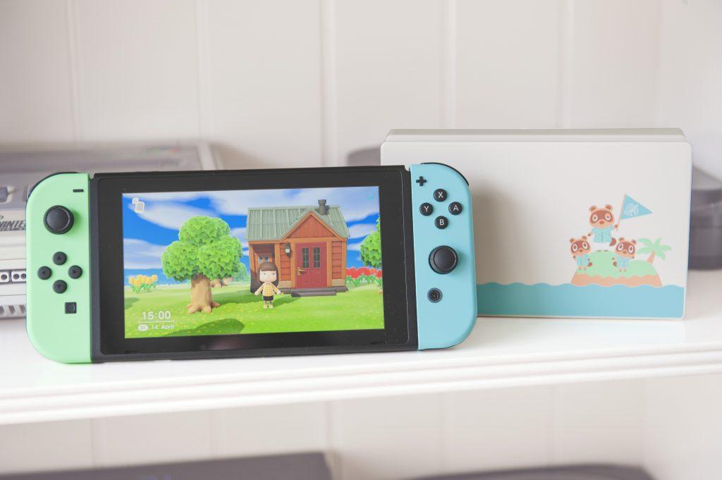 Nintendo Switch édition limitée Animal Crossing New Horizons présentation blog unboxing